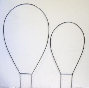 Spalje Båge Enkel Liten obeh metall 40 cm köp hos Plantanica