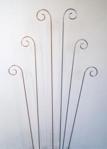 Spiry blompinne set 4-pack obehandlad metall köp hos Plantanica