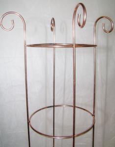 Spiry torn R6 kopparfärgad metall 135 cm köp hos Plantanica