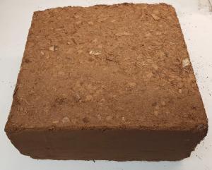 Kokosfiber Coir 5 kg block mix -buffrad - tvättad köp hos Plantanica