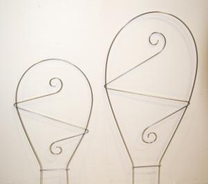 Spiry Spalje Båge Stor obeh metall 50 cm köp hos Plantanica