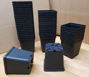Kruka plast 9 x 9 x 10 - 20 st köp hos Plantanica