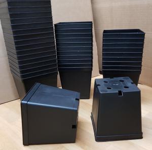 Kruka plast 11 x 11 x 12 cm - 20 st köp hos Plantanica